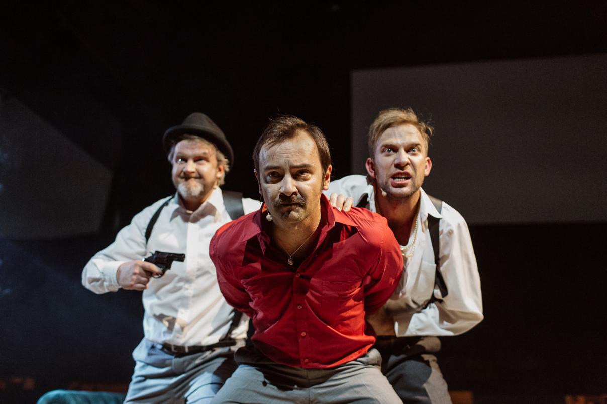 Kondor (Krzysztof Prałat), Najmrodzki (Mariusz Ostrowski), Sewer (Mariusz Galilejczyk)