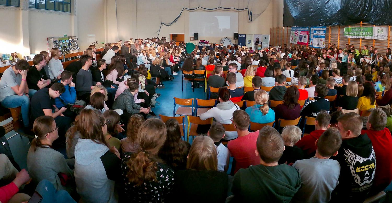 publiczność w sali