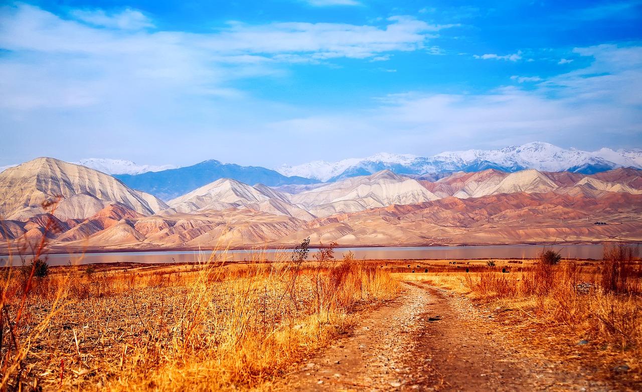 krajobraz, wysokie góry