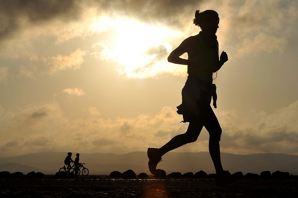 bieganie, kobieta