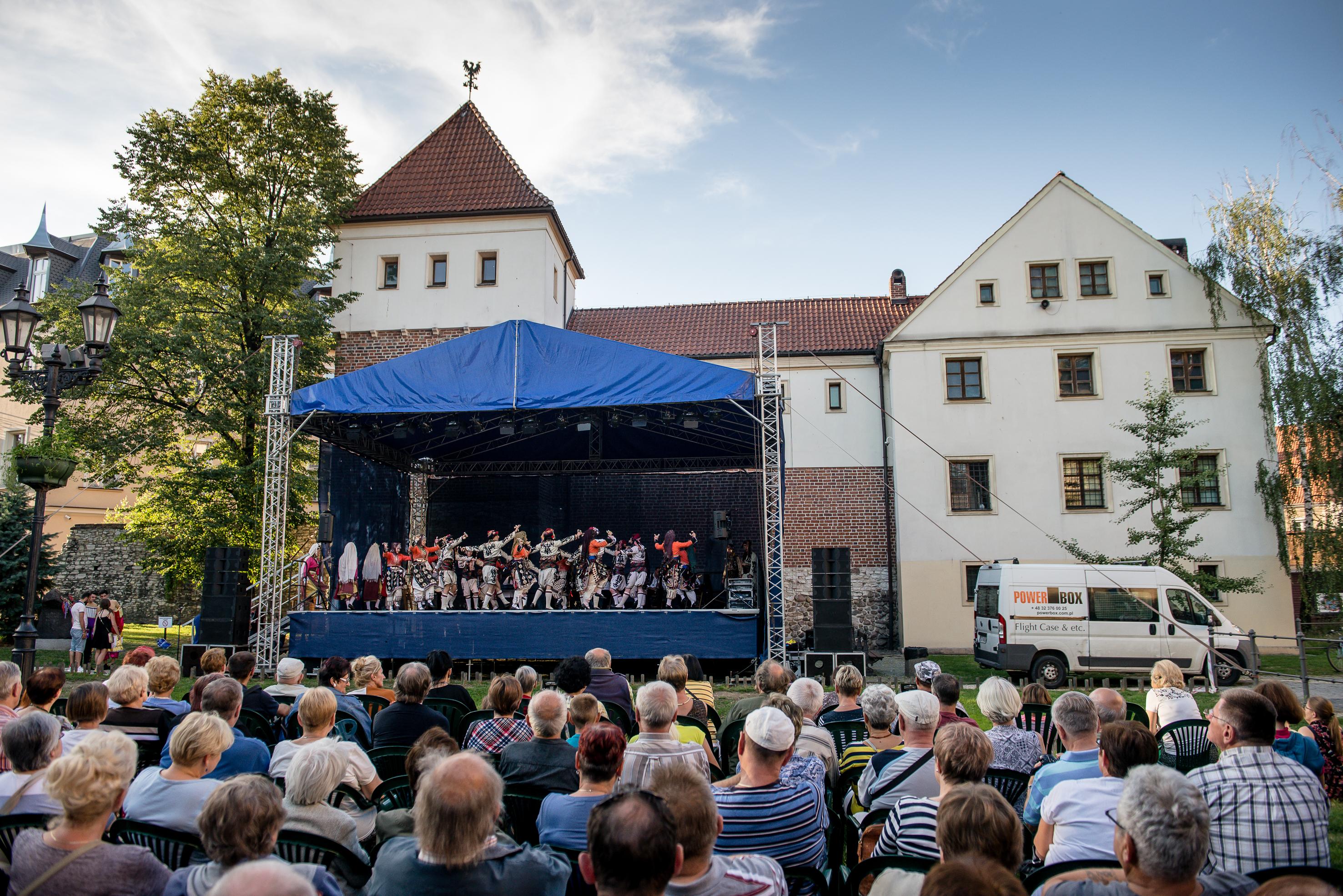 koncert przy Zamku Piastowskim