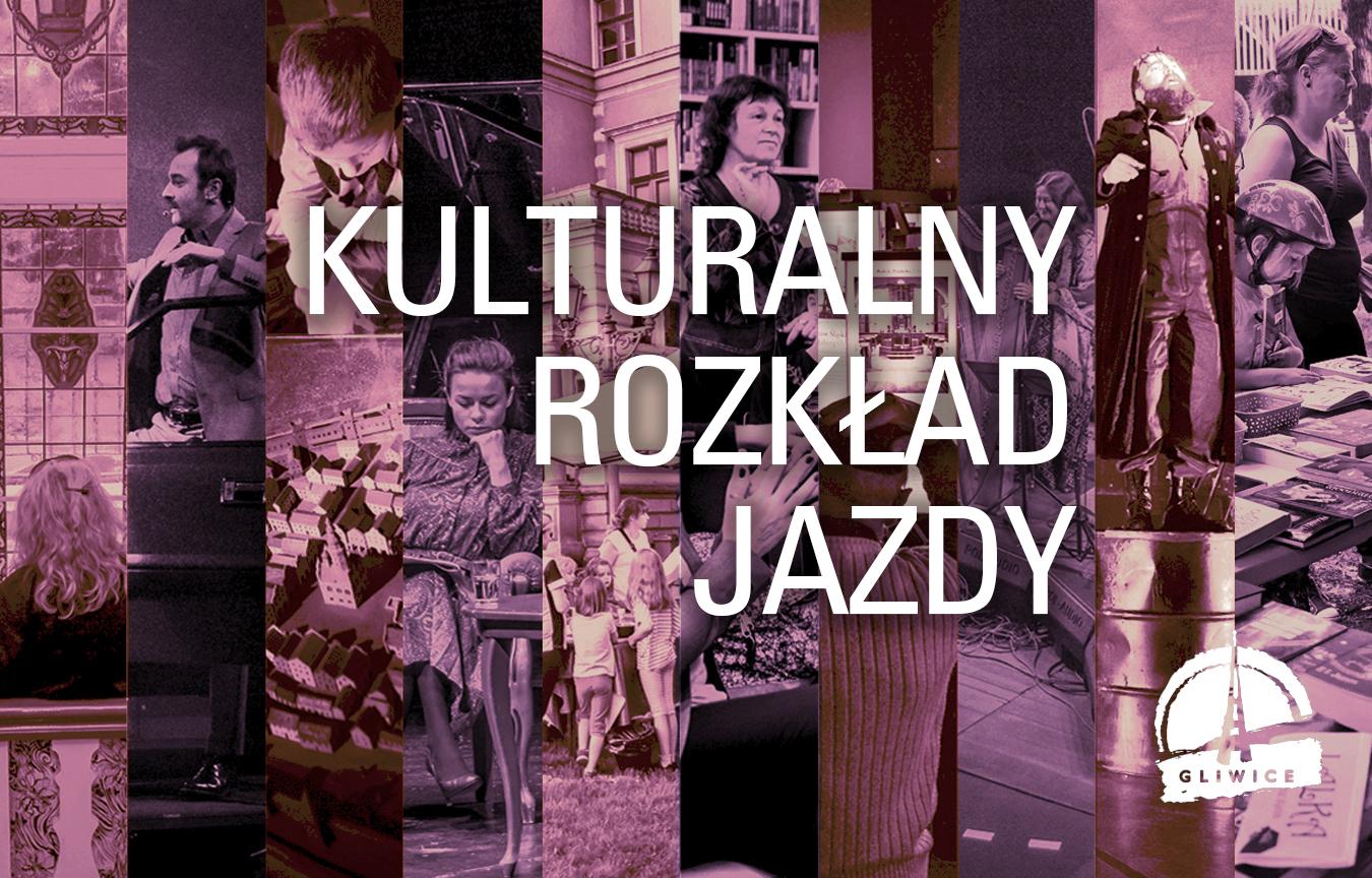 banner, napis: Kulturalny rozkład jazdy