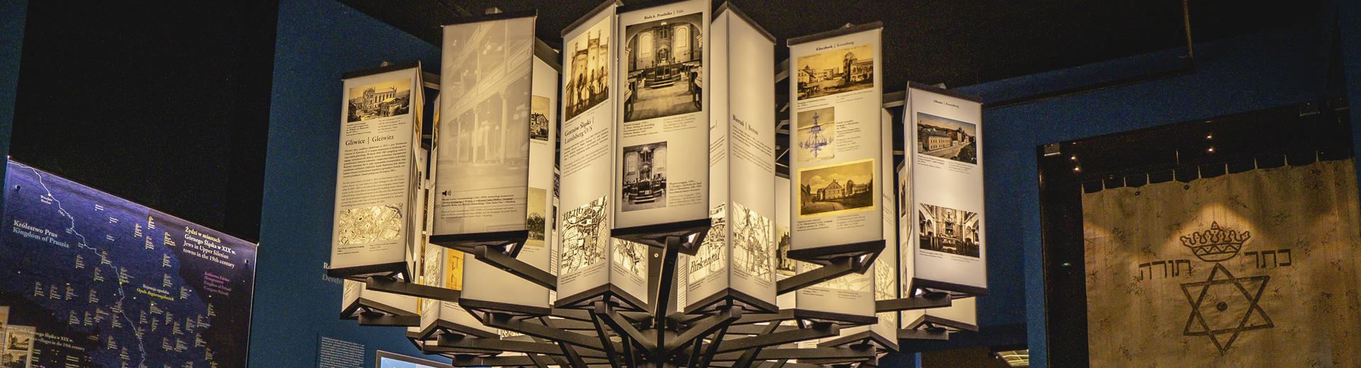 wystawa w Domu Pamięci Żydów Górnośląskich