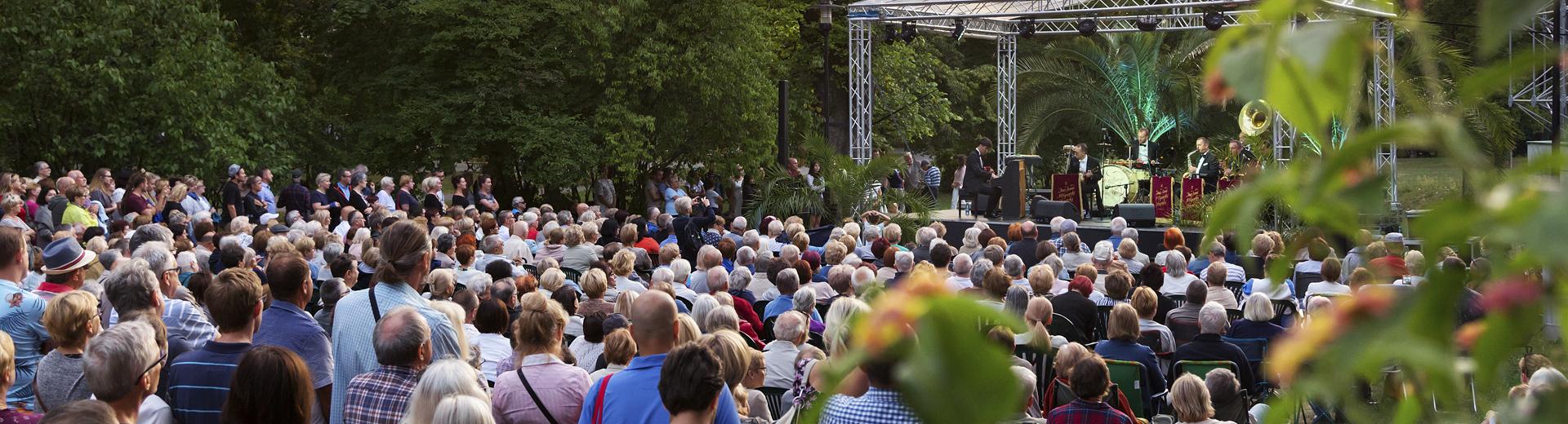 koncert w parku Chopina